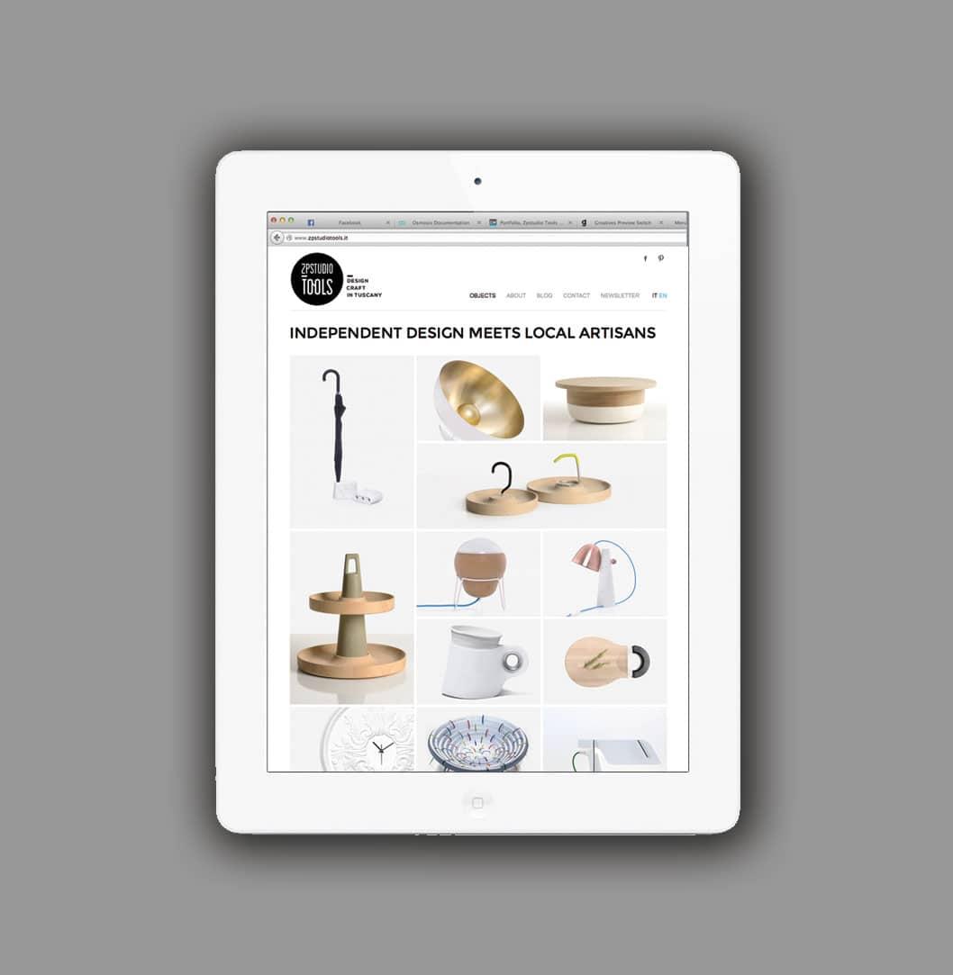 Realizzazione sito web Zpstudio Tools