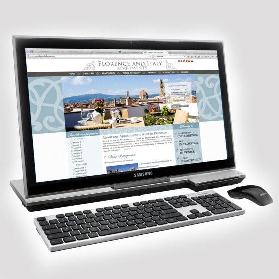 Realizzazione sito web FLORENCE AND ITALY APARTMENTS