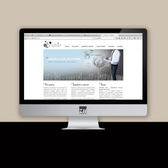 Realizzazione progetto grafico sito web Firenze
