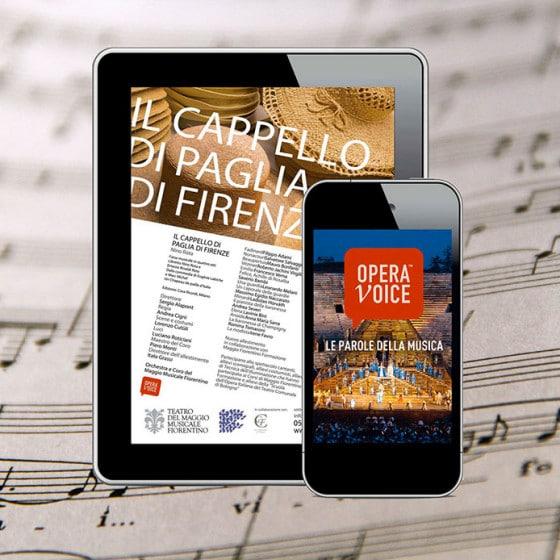 Realizzazione sito web OPERA VOICE FIRENZE