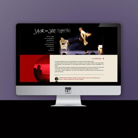 Realizzazione sito web Jack & Joe Theatre