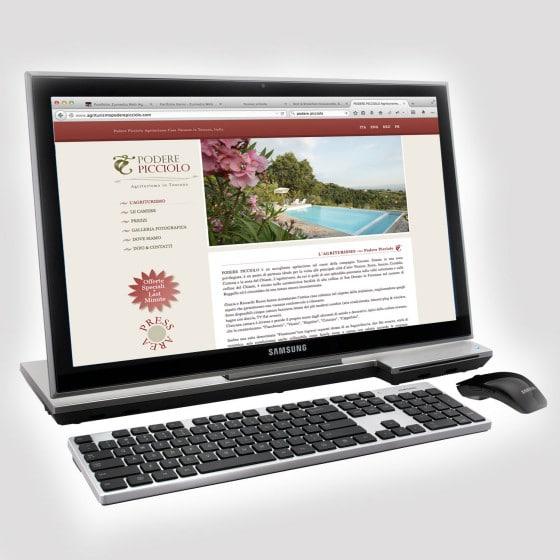 Realizzazione sito web Podere Picciolo