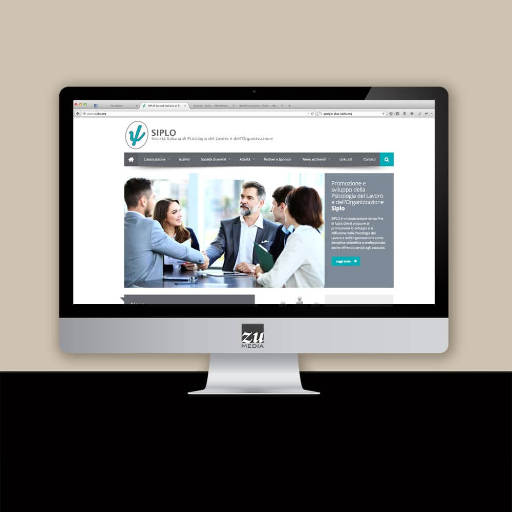 SIPLO, restyling sito web Firenze