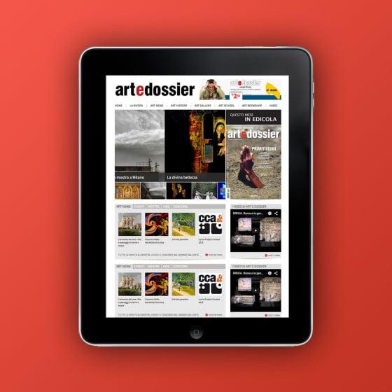 Realizzazione sito web Giunti Art e Dossier