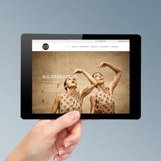 Realizzazione sito web CAB 008 Danza Contemporanea