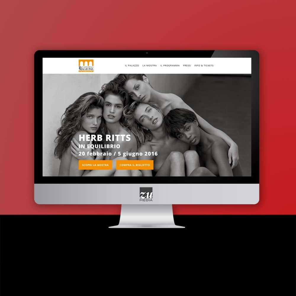 Realizzazione sito web Palazzo della Ragione Fotografia