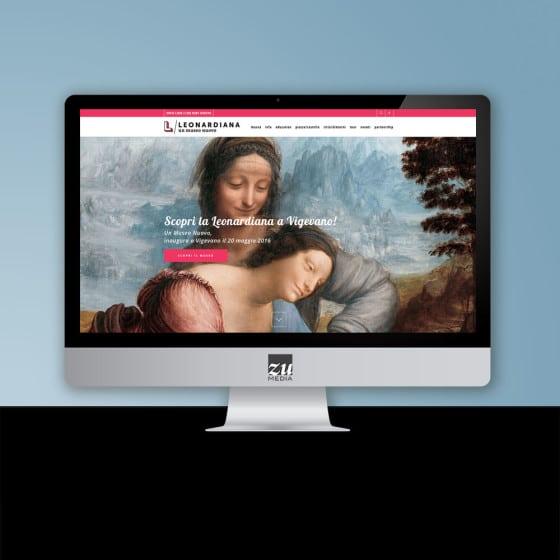 Realizzazione sito web LEONARDIANA / un museo nuovo