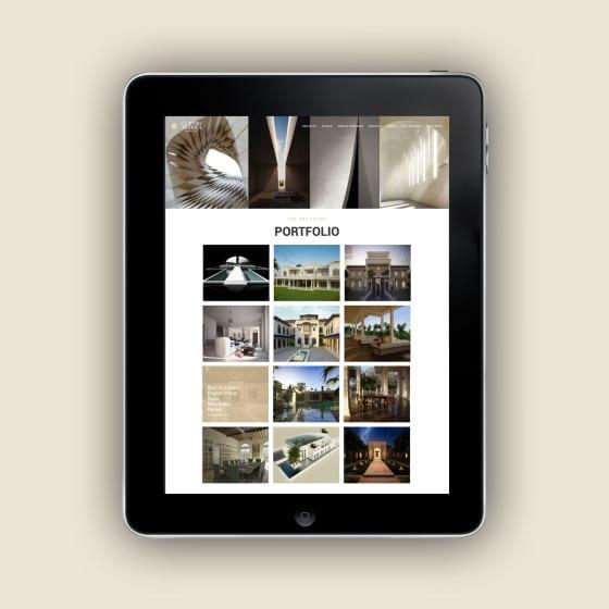 Realizzazione sito web Claudio Modola • Studio di Architettura e Design