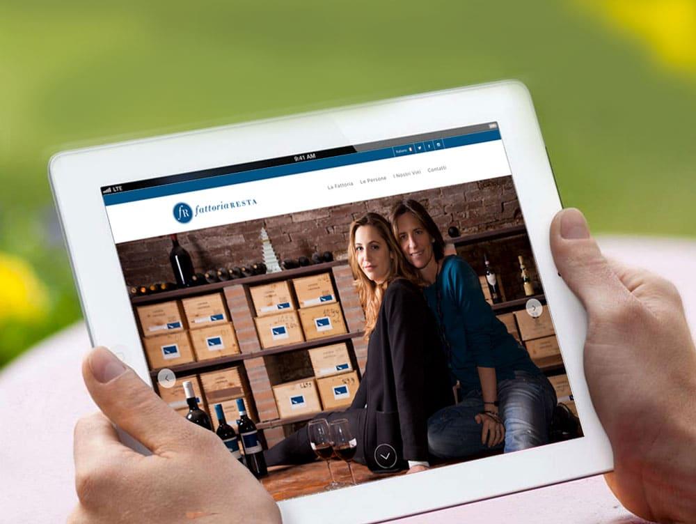 realizzazione sito internet azienda vinicola - Zumedia web agency firenze