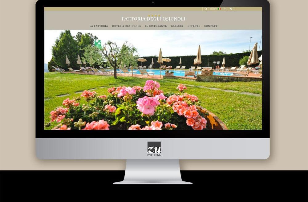 Fattoria degli Usignoli - Restyling sito web