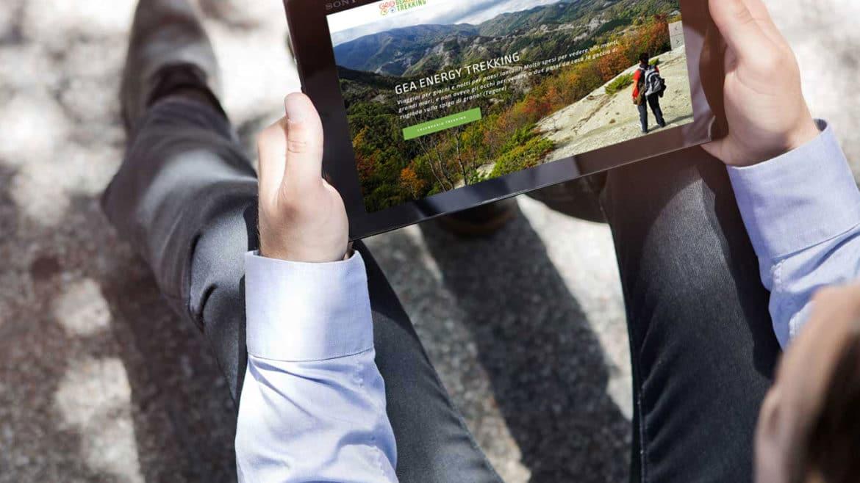 Realizzazione sito web Associazione Trekking