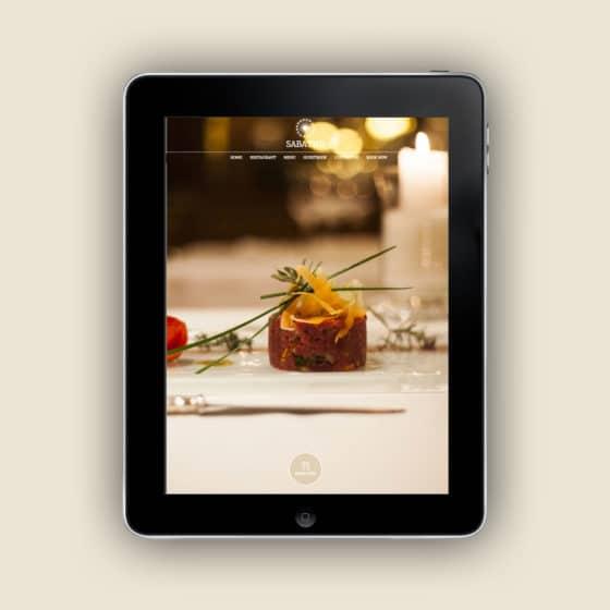 Restyling sito internet Ristorante Sabatini