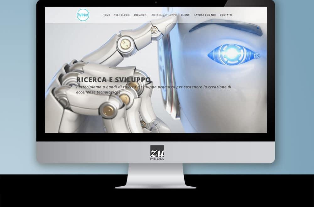 WINET - realizzazione sito web Firenze