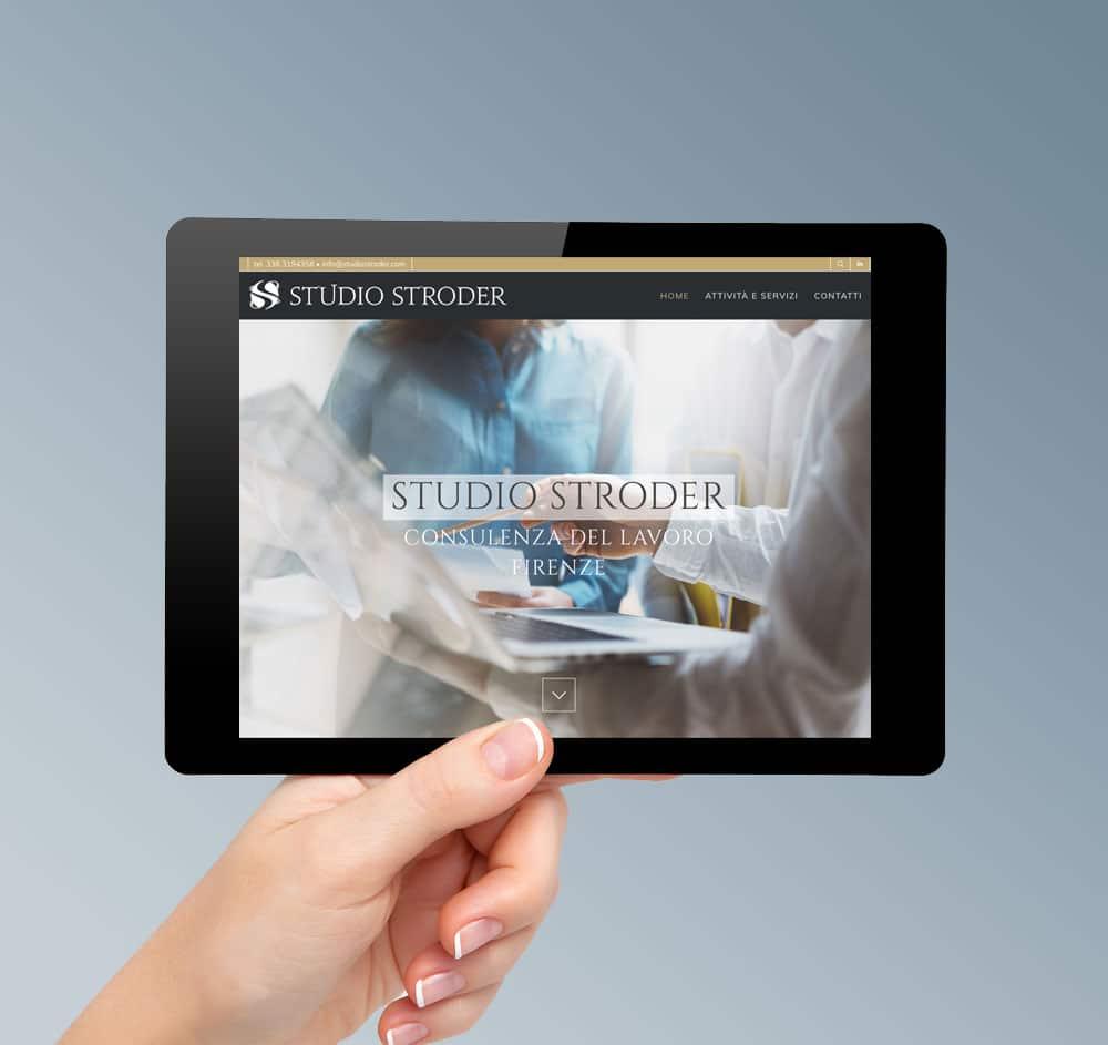 Realizzazione sito web studio commercialista firenze