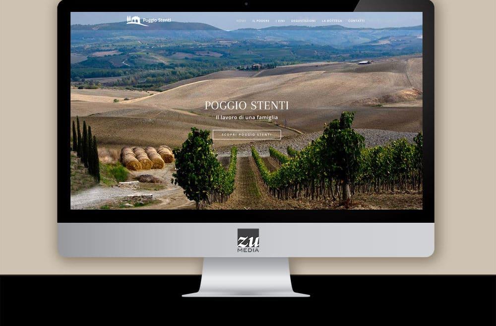 Restyling sito web azienda vinicola firenze