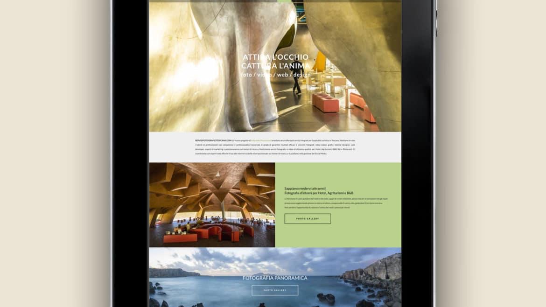 Servizi Fotografici Toscana - Realizzazione sito internet - Firenze