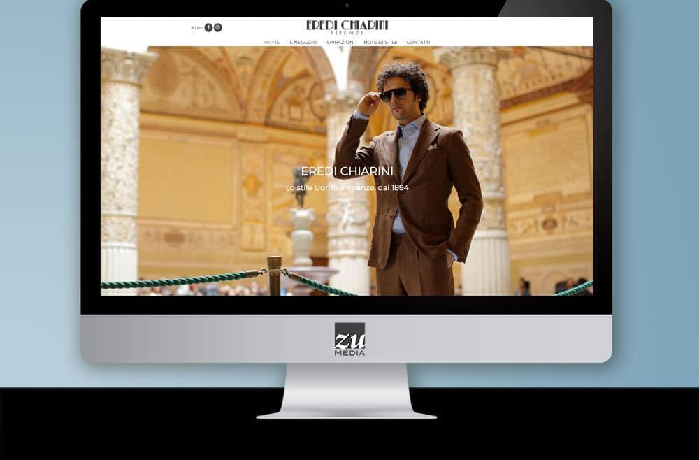 realizzazione sito web Eredi Chiarini