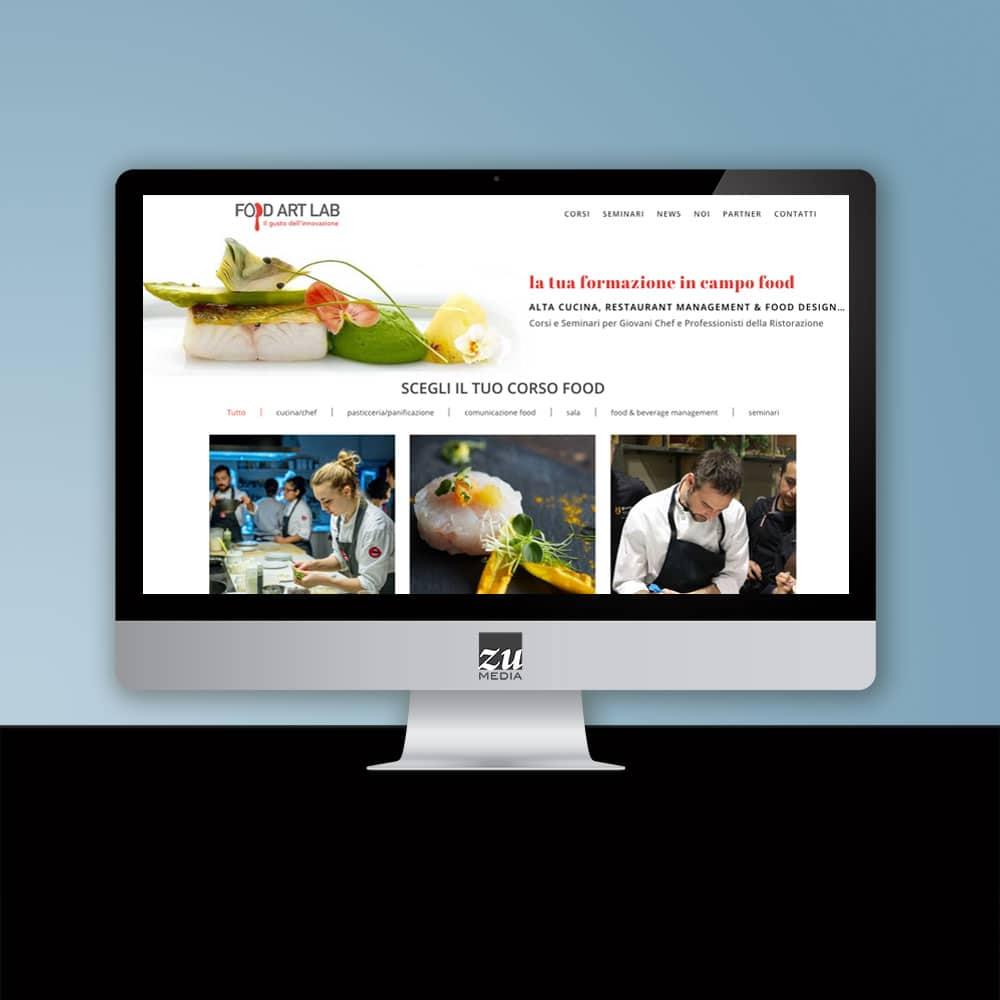 Realizzazione sito web food firenze