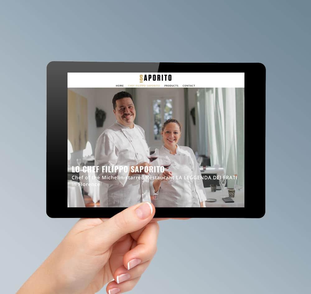 Realizzazione sito web ristorante stellato firenze