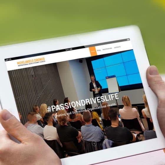 Realizzazione sito e-commerce per Michelangelo Canonico - Agile Systemic Coach